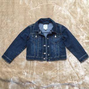 Girls 1989 Place jean jacket, size 4 T